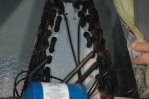 sulfide corrosion on coils